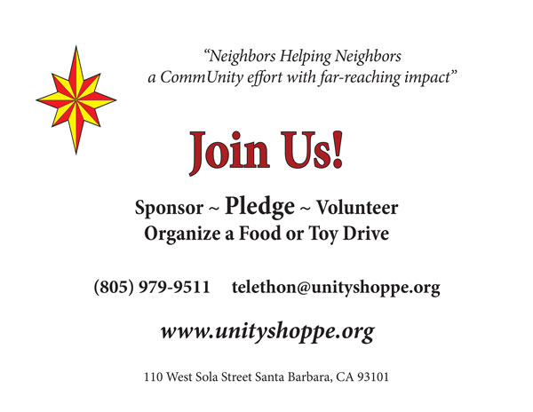 Unity Telethon Celebration 32nd Annual @ Unity Shoppe
